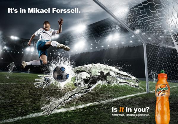 Gatorade Mikael Forssell Football